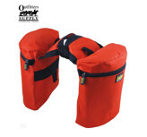 Outfitters Supply™ TrailMax Original Pommelbags (hornväskor), Orange