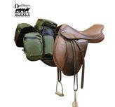 Outfitters Supply™ TrailMax English Pommel Bag (framväskor), Salviagrön